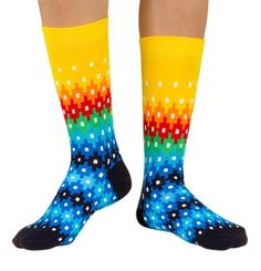 Shop here for high quality socks with a wide range womens Combed Cotton socks that feel great, last long and look fab! Silly Socks, Funky Socks, Crazy Socks, Colorful Socks, My Socks, Mens Designer Socks, Gentleman Shoes, Vogue, Dress Socks