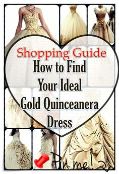 Find the ideal Gold quinceanera dresses in your area! Discover Gold quinceanera dresses as well as where to get them! Quinceanera Party, Quinceanera Dresses, Different Dresses, Different Patterns, Sweet 16 Dresses, Cute Dresses, Fantasy Party, Quince Dresses, Queen