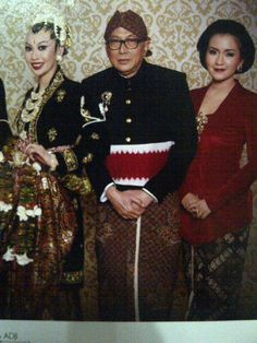 Javanese traditional kebaya