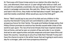 Mike Pence asked to respond to an 11-year-old girl concerned about her self image in intvw w/ @ScottLight10TV tonight:
