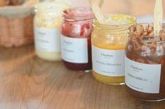 food jars french