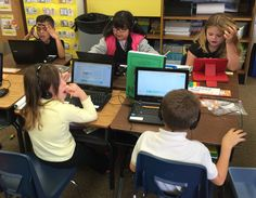 Greeley, Colorado's first graders embark on morning Literacy components with an over objective of Blended Learning in their school system.