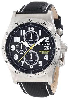 18d972c010a Invicta Men s 45mm Black Nylon Band Steel Case S. Sapphire Quartz Blue Dial  Chronograph Watch. Caixa De Aço InoxidávelTechnoRelógios ...