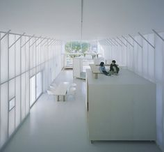 Experiments in Interior Design - Without Walls: Naked House (2000)