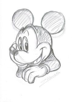 Charming Mickey - Original Sketch - Z. Vendetta - Eerste druk