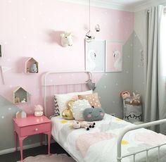 A beautiful space with our little belle fairy nightlight #australianmushroomlight #littlebelle #girlsroomdecor #girlsroomdecor