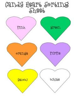 This download is to be used with Candy Hearts (Conversation Hearts).Included in this download:Teacher DirectionsStudent DirectionsColor Sor...