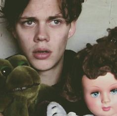 Bill Skarsgard takes the best and weirdest photos.