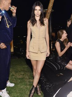 Kendall Jenner, Cara Delevingne and Kylie Jenner attend Olivier Rousteing & Beats Celebrate In Los Angeles