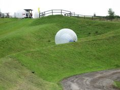 Popular Outdoor Activities in Bangalore: Zorbing - Many adventure companies offer outdoor activities in Bangalore. If you want to try zorbing you need the gentle slope without any obstructions in the way. It may be difficult to find a space like this inside the city, you may need to head to the outskirts – like to the Nandi hills or Horsley Hills