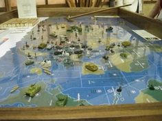 The Ultimate Board Game Table Makes Playing D&D Serious Business. Not for D&D, but this would make Axis and Allies awesome!