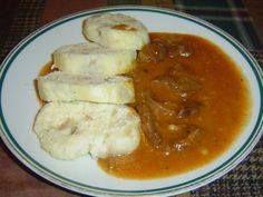 Podle původní receptury z kližky Czech Recipes, Ethnic Recipes, Food 52, Food Videos, Stew, Mashed Potatoes, Treats, Chicken, Cooking