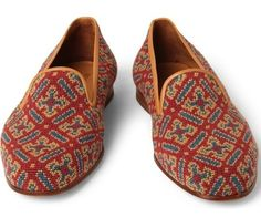 Fancy, fancy slippers. First, I need to get a Bengali tiger, and then these.
