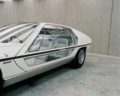 Rare Look at Classic Bertone Concept Cars: 1967 Lamborghini Marzal
