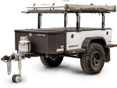 Introducing the XVENTURE Severe-Duty trailer from Schutt Industries. This is a serious product from a name brand you can trust. Compare the XVENTURE trailer to anything else out there and we are certain you will agree, it's simply the best product of i Teardrop Camper Trailer, Off Road Camper Trailer, Box Trailer, Trailer Build, Camper Trailers, Jeep Camping Trailer, Campers, Utility Trailer, Adventure Trailers