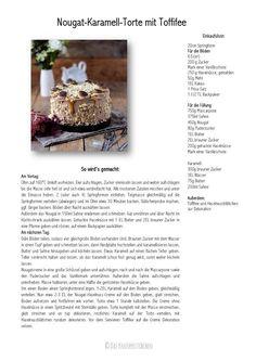 Karamell Nougat Haselnuss Toffifee Torte - Caramel Hazelnut Chocolate Cake