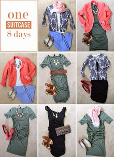 in residence: pin to present: packing tips - Capsule Wardrobe - Travel Tips - Packing