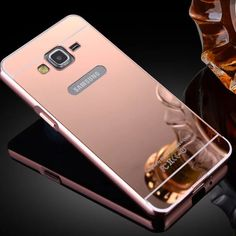 Coque For G530H Luxury Aluminum Mirror Case For Samsung Grand Prime G530 G531H G5308W Metal Frame Gold Back Cover Accessories #clothing,#shoes,#jewelry,#women,#men,#hats,#watches,#belts,#fashion,#style