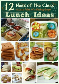 12 Head of the Class Lunch Ideas - Tales of a Ranting Ginger