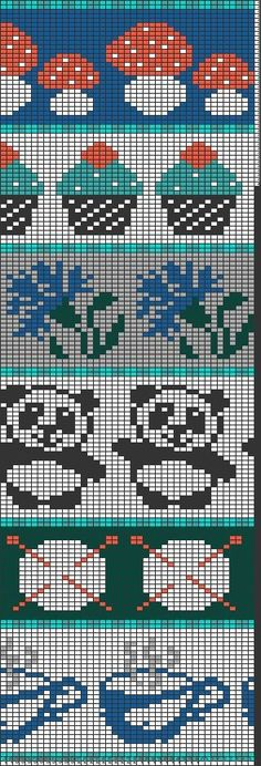 New Absolutely Free knitting charts patterns Tips Tricksy Knitter von Megan Goodacre Fair Isle Knitting Patterns, Fair Isle Pattern, Knitting Charts, Knitting Designs, Knitting Stitches, Baby Knitting, Bead Loom Patterns, Cross Stitch Patterns, Applique Designs