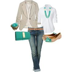 Turquoise outfit :) me like