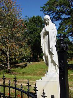 catholic cemetery, mobile, al; Graveyard Walker Photography