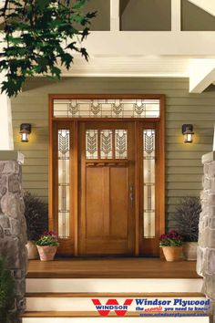 Villager Glass Classic-Craft American Style Fiberglass Entry Doors | Windsor Plywood
