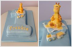 Number 1 Giraffe Birthday Cake « « Cakes by Lynz Cakes by Lynz