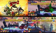 Jogo Samurai VS Zombies Defense 2 para Android