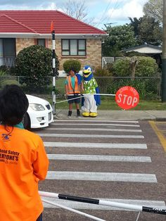 Kori working on road safety at Papakura South School Swim School, Programming For Kids, Safety, Security Guard, Kids Programs