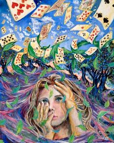 YOU'RE NOTHING BUT A PACK OF CARDS! - ALICE IN WONDERLAND BY ANNE VANSWEEVELT