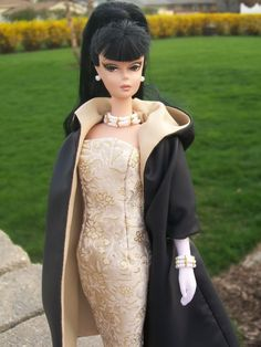 Silkstone Barbie in Arina's fashion creations.This Photo was uploaded by carolr5