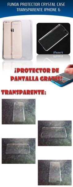 Encuentra Funda Protector Crystal Case Transparente Iphone 6 Y 6 Plus -  Fundas para Celulares en Mercado Libre México. Descubre la mejor forma de  comprar ... 2b2755f69fe