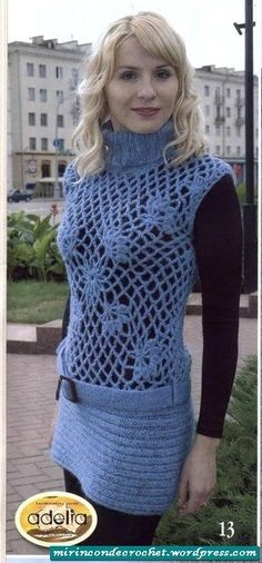 A turtleneck tunic