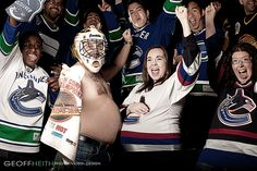 Photo I took during last years Vancouver Canucks Stanley Cup run.