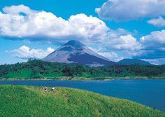 Lake Arenal and Arenal Volcano, Costa Rica