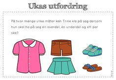ukas utfordring Word Problems, Early Learning, Maths, Education, School, Charts, Children, 2nd Grade Class, First Class