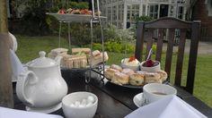 <3 Cream tea at Mary Green Manor Hotel<3