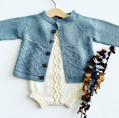 Ravelry: Spring pattern by Benja Kirk Baby Cardigan Knitting Pattern Free, Baby Sweater Patterns, Baby Girl Patterns, Baby Knitting Patterns, Baby Pullover Muster, Crochet Baby, Knit Crochet, Ravelry, How To Purl Knit