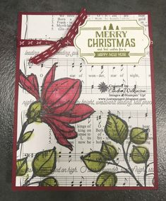 Remarkable You Christmas Card – Just Sponge It!