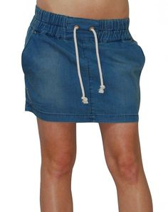 Egrets jupe en jeans #SS13 #NikitaClothing