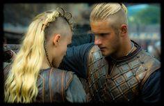 Bjorn and Porrun, Vikings Season 3, Feb 19, 2015