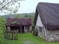 Stang End Cottage at Ryedale Folk Museum; Medieval Cottage