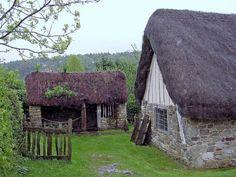 Stang End Cottage at Ryedale Folk Museum; Medieval Cottage