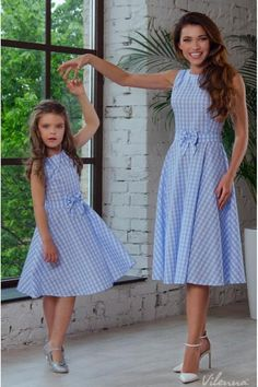 New Mother Daughter Dresses Bow Plaid Family Matching Outfits Blue O-neck Fashio.-- New Mother Daughter Dresses Bow Plaid Family Matching Outfits Blue O-neck Fashion Mom and Daughter Dress Women Kids Clothes Mom Daughter Matching Dresses, Matching Family Outfits, Prom Dresses With Sleeves, Girls Dresses, Girl Fashion, Fashion Dresses, Toddler Fashion, Toddler Outfits, Girl Outfits
