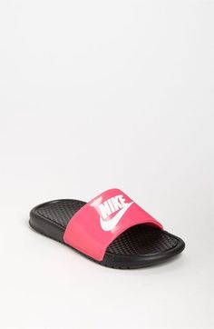 760416805 Women s Benassi JDI Swoosh Slide Sandals from Finish Line. Nike   ...