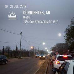 #corrientes #argentina #motozplay #invierno #niebla