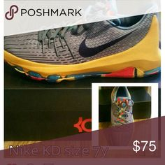 Nike KD Youth Nike Kevin Durant Sneakers Nike Shoes Athletic Shoes
