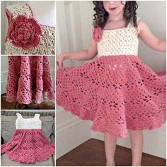 Crochet Vintage Dress Pattern