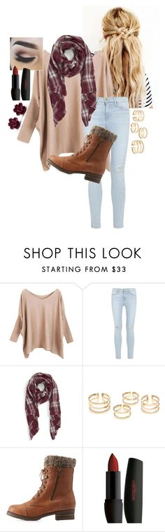 """Fallish"" by alexandra-3-grace ❤ liked on Polyvore featuring Kristin Cavallari, Frame Denim, Sole Society, Charlotte Russe, women's clothing, women, female, woman, misses and juniors"